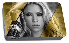 Shakira Collection Portable Battery Charger by Marvin Blaine