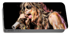 Steven Tyler Collection Portable Battery Charger by Marvin Blaine