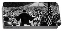 Martin Luther King Jr Portable Battery Charger by American School