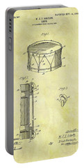 1905 Drum Patent Portable Battery Charger by Dan Sproul