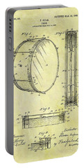 1908 Drum Patent Portable Battery Charger by Dan Sproul