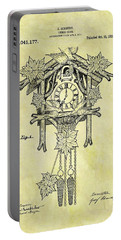 1912 Cuckoo Clock Patent Portable Battery Charger by Dan Sproul
