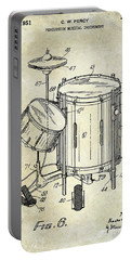 1951 Drum Kit Patent  Portable Battery Charger by Jon Neidert
