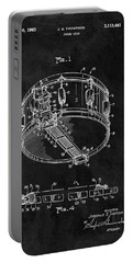 1963 Snare Drum Patent Portable Battery Charger by Dan Sproul