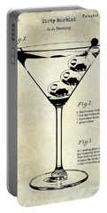 1897 Dirty Martini Patent Portable Battery Charger by Jon Neidert