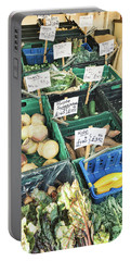 A Farmers' Market Portable Battery Charger by Tom Gowanlock