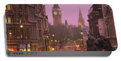 Big Ben London England Portable Battery Charger by Panoramic Images