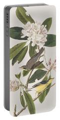 Canada Warbler Portable Battery Charger by John James Audubon