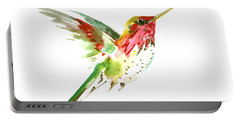 Flying Hummingbird Portable Battery Charger by Suren Nersisyan
