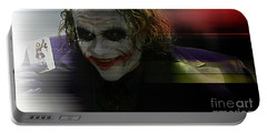Heath Ledger Portable Battery Charger by Marvin Blaine