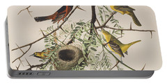 Orchard Oriole Portable Battery Charger by John James Audubon