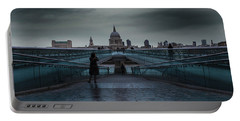St Paul's Cathedral Portable Battery Charger by Martin Newman