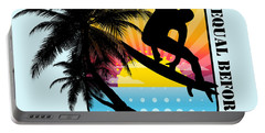 Surfboard Portable Battery Charger by Mark Ashkenazi