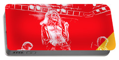 Led Zeppelin Collection Portable Battery Charger by Marvin Blaine