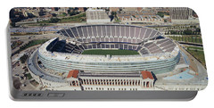 Aerial View Of A Stadium, Soldier Portable Battery Charger by Panoramic Images