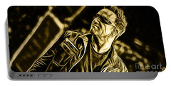Bono U2 Collection Portable Battery Charger by Marvin Blaine