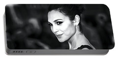 Gal Gadot Print Portable Battery Charger by Best Actors