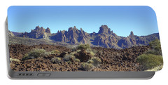 Tenerife - Mount Teide Portable Battery Charger by Joana Kruse