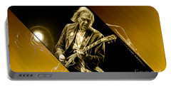 Neil Young Collection Portable Battery Charger by Marvin Blaine