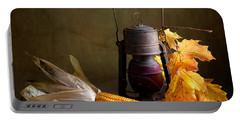 Autumn Portable Battery Charger by Nailia Schwarz