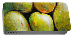 5 Mangos Portable Battery Charger by Chris Steinken