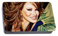 Raquel Welch Collection Portable Battery Charger by Marvin Blaine