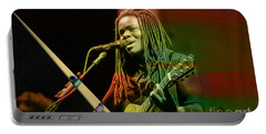Tracy Chapman Collection Portable Battery Charger by Marvin Blaine