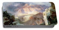 A Miracle Of Nature Portable Battery Charger by Thomas Moran