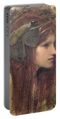 A Study For A Naiad Portable Battery Charger by John William Waterhouse