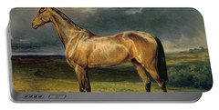 Abdul Medschid The Chestnut Arab Horse Portable Battery Charger by Carl Constantin Steffeck