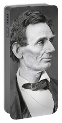 Abraham Lincoln Portable Battery Charger by Alexander Hesler
