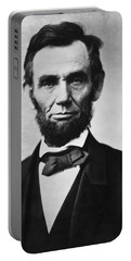 Abraham Lincoln Portable Battery Charger by War Is Hell Store