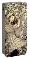 Adventures In Wonderland Portable Battery Charger by Arthur Rackham