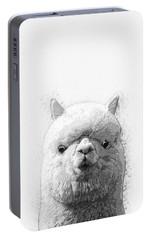 Alpaca  Portable Battery Charger by Taylan Apukovska