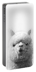 Alpaca  Portable Battery Charger by Taylan Soyturk