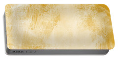 Amber Waves Portable Battery Charger by Linda Woods