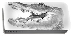 American Alligator Portable Battery Charger by Greg Joens