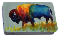 American Buffalo IIi Portable Battery Charger by Hailey E Herrera