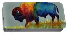 American Buffalo IIi Portable Battery Charger by Hailey E Herrera