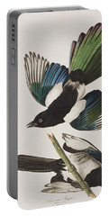 American Magpie Portable Battery Charger by John James Audubon