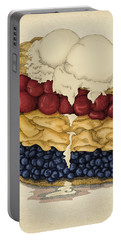 American Pie Portable Battery Charger by Meg Shearer