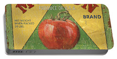 American Veggies 2 Portable Battery Charger by Debbie DeWitt