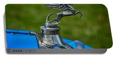 Amilcar Pegasus Emblem Portable Battery Charger by Adrian Evans