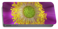 Anemone Hupehensis 'hadspen Portable Battery Charger by John Edwards