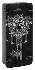Antique Cuckoo Clock Patent Portable Battery Charger by Dan Sproul