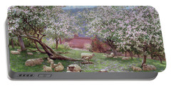 Appleblossom Portable Battery Charger by William Biscombe Gardner