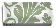 Arielle Olive Portable Battery Charger by Mindy Sommers
