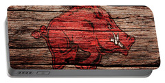 Arkansas Razorbacks Portable Battery Charger by Brian Reaves