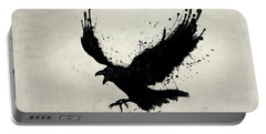 Raven Portable Battery Charger by Nicklas Gustafsson
