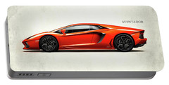 Lamborghini Aventador Portable Battery Charger by Mark Rogan